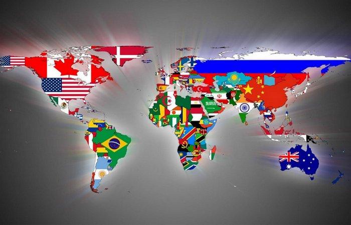 Флаги стран Земли.