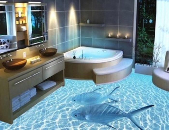 Идеальный вариант для ванной.