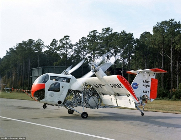 Смелый эксперимент Boeing Vertol VZ-2.
