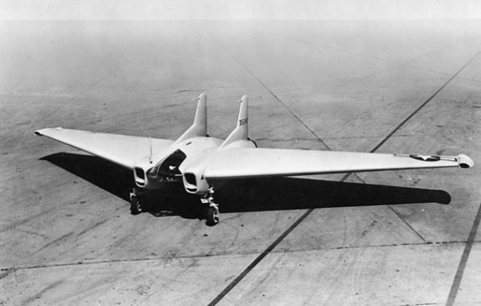 Northrop XP-79B пролетел всего четверть часа.