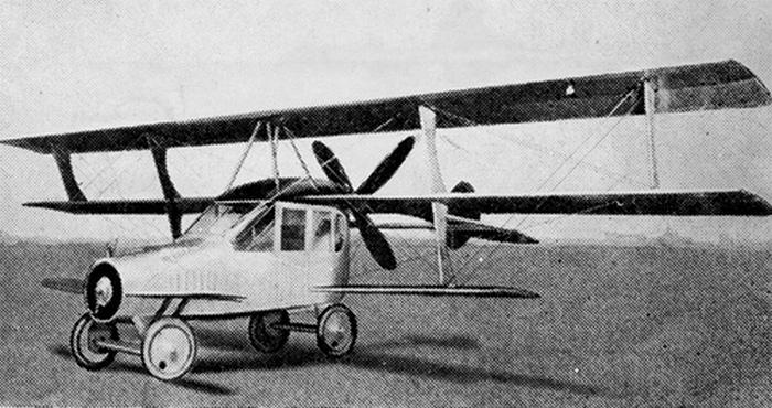Curtiss Autoplane - первое летающее авто.