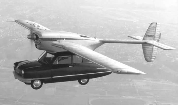 Летающий автомобиль Convair Model 116.