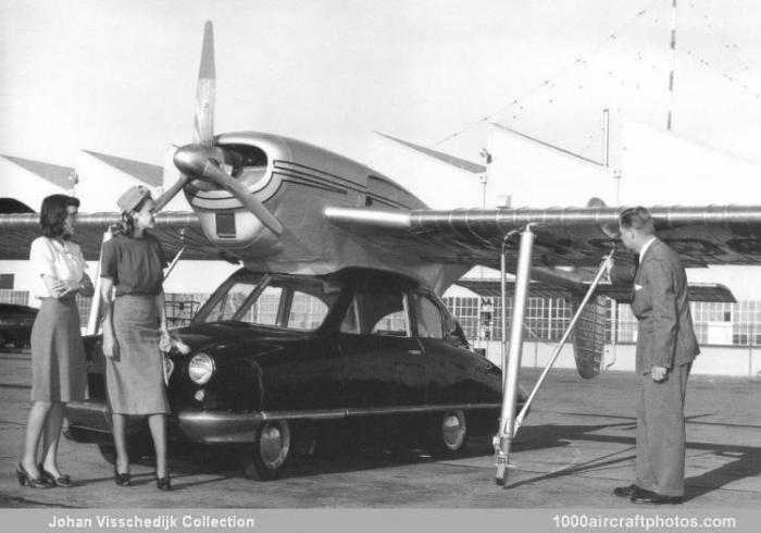 Convair Model 116 - летающий автомобиль, который мог стать серийным.