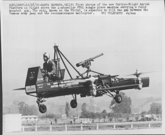 Венный проект Curtiss-Wright VZ-7.