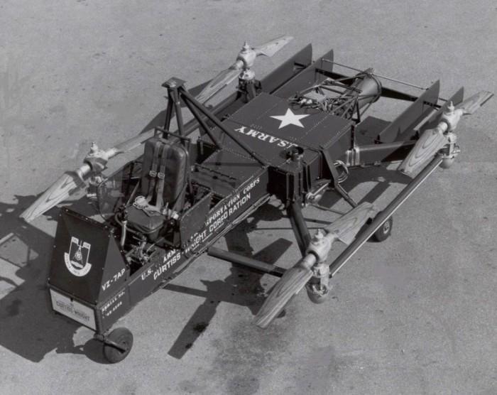 Автомобиль с вертикальным взлётом и посадкой.