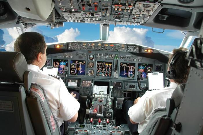 Пилоты там сидят не просто так.