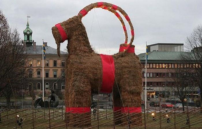 Рождественская коза.