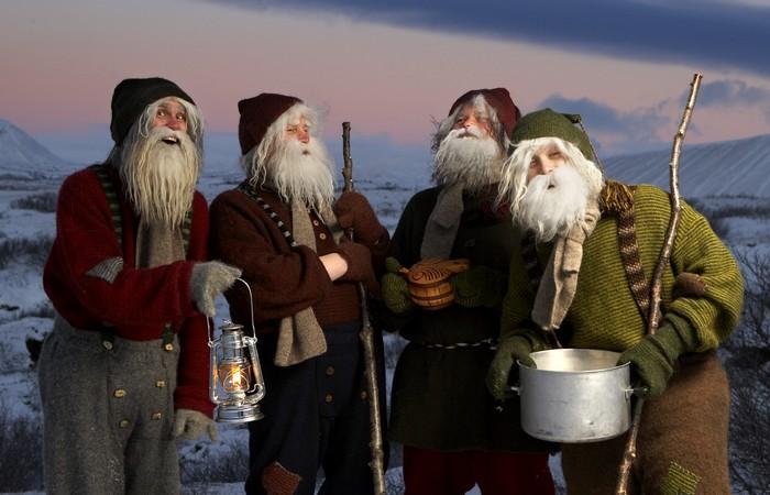 Йоласвейнары и прочие новогодние сущности.