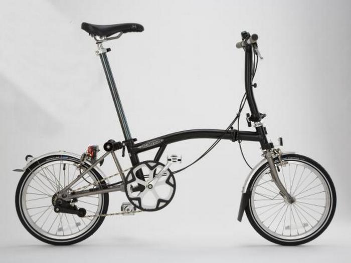 Складной велосипед Brompton S Type.