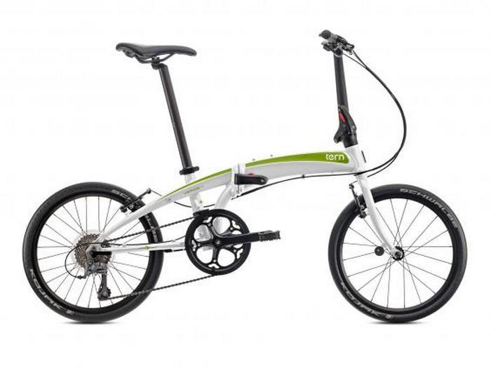 Складной велосипед Tern Verge N8.