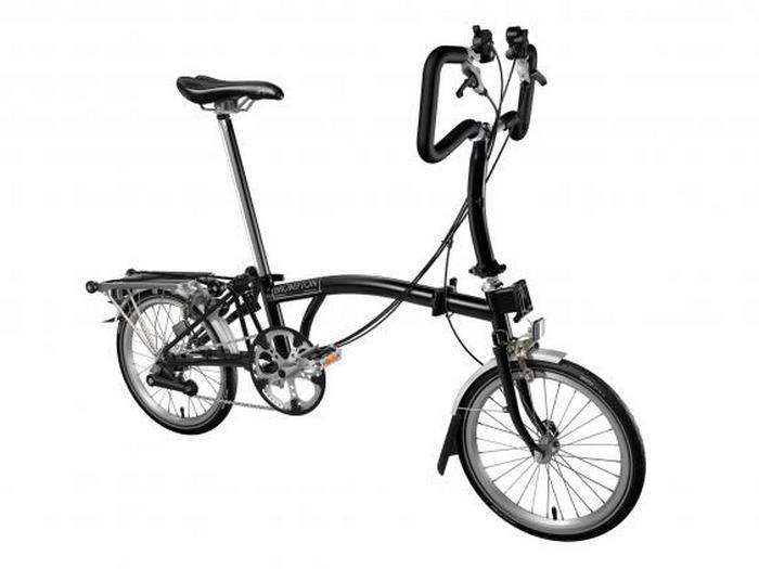 Складной велосипед Brompton P6R.