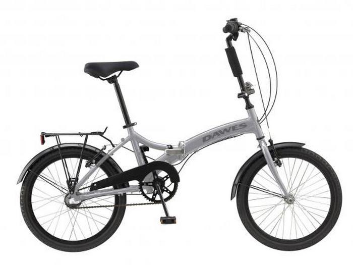 Складной велосипед Dawes Diamond.