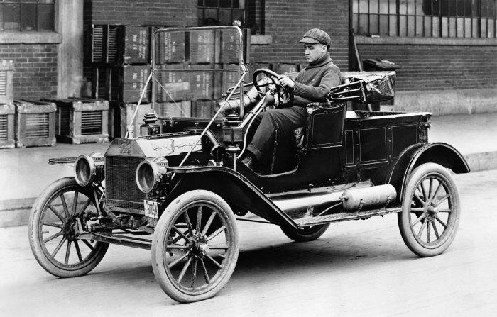 1908 Ford Model T: с годами всё красивее.