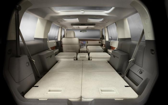 Ford Flex: и удобная кровать.
