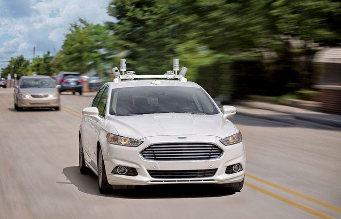Полностью автономный Ford.