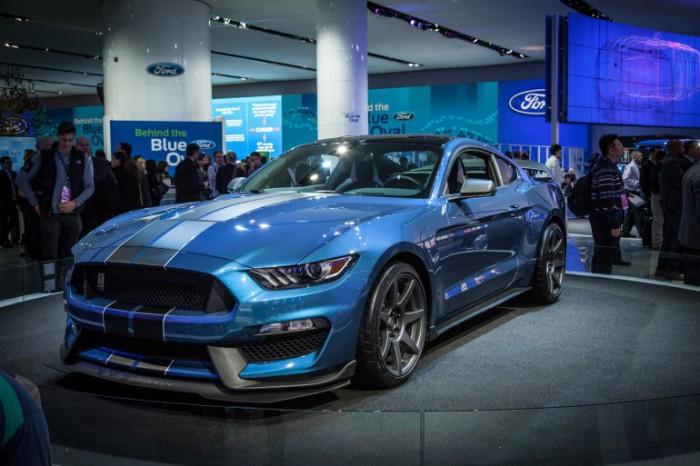 Самый лёгкий трековый Mustang от компании Ford.