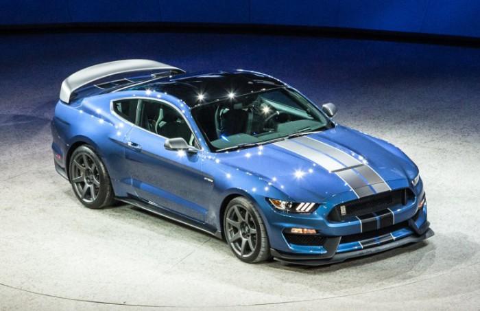 Shelby GT350R Mustang - новая модель Mustang.