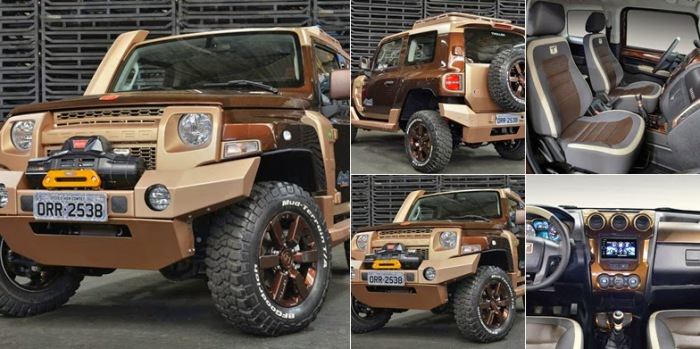 По-настоящему внедорожный концепт Ford.
