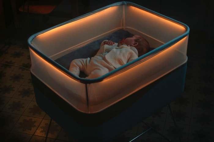 Это кроватка, которая сделает счастливыми и детей, и родителей.
