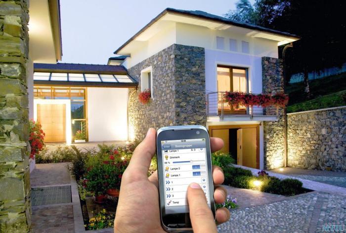 Дом будущего с самыми современными технологиями.