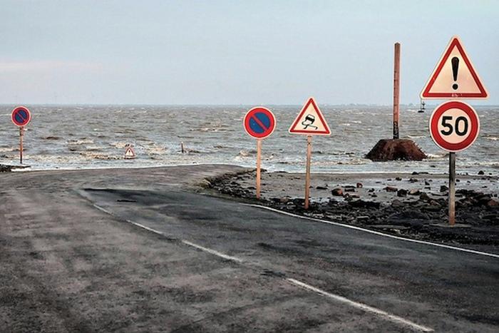 Предупреждения о ловушках прилива.