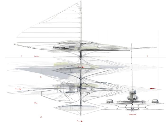 Тримаран на солнечных батареях: как это работает.