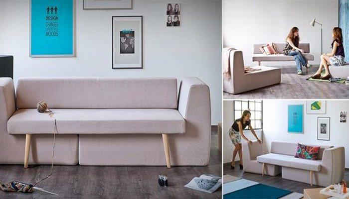 Sofista modular sofa.