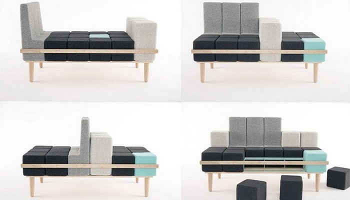 Bloc'd Sofa.