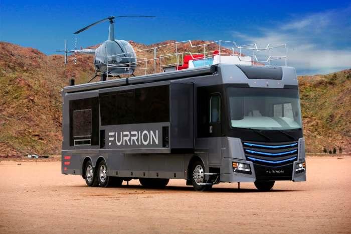 Роскошь Furrion поражает воображение.
