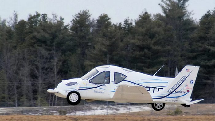 Футуризм сегодня: летающие машины.