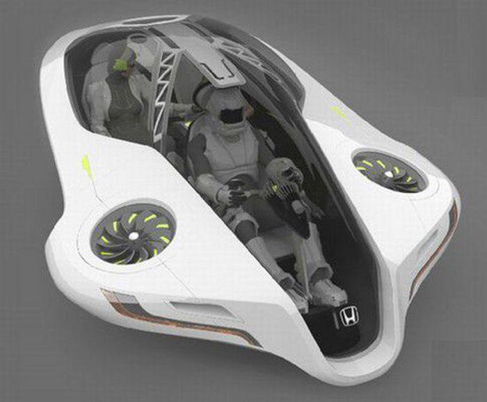 Honda Fuz-O - невероятный концепт.