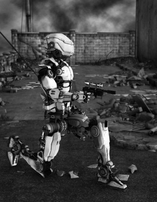 Бытовые роботы переквалифицируются в убийц.