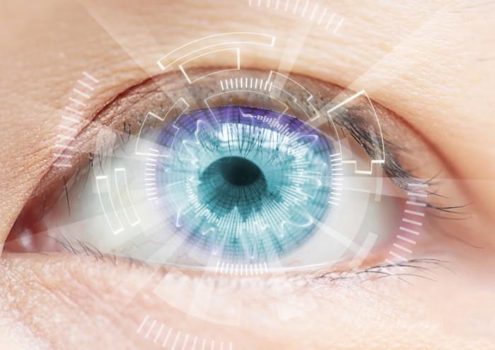 Цифровые контактные линзы.