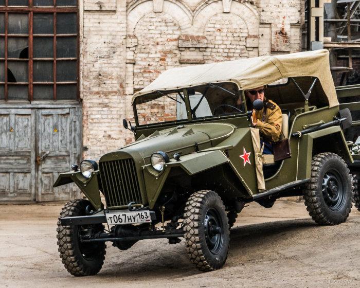 После войны в автопарк ГАИ попало много этих авто. |Фото: fotokto.ru.