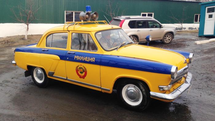 Первый массовый автомобиль ГАИ. |Фото: drive2.ru.