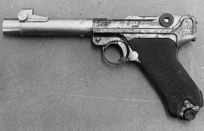 Уникальный немецкий пистолет на базе Люгера.