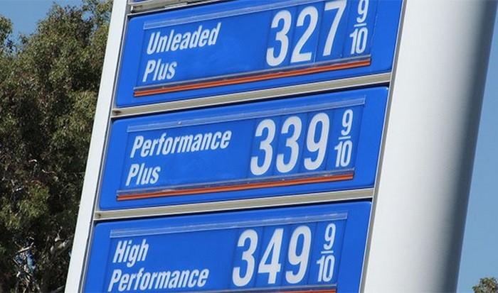 Стоимость бензина в США и ЕС.