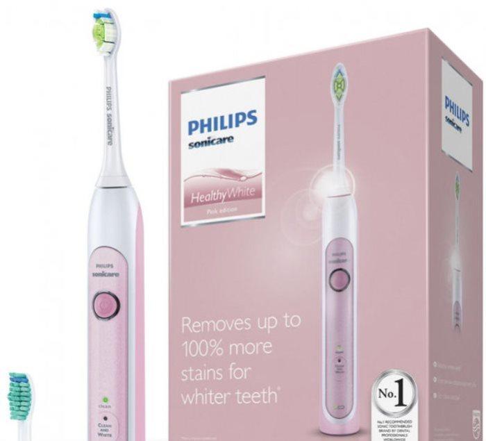 С Philips Sonicare HealthyWhite чистить зубки одно удовольствие.