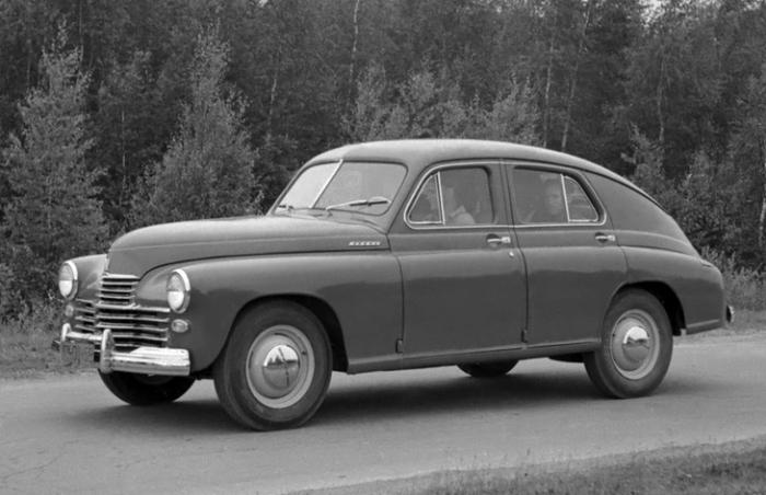 «Победа» спецсерии - один из спецавтомобилей для КГБ.