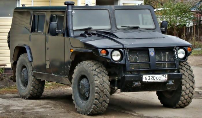Стильный и крутой ГАЗ Тигр.