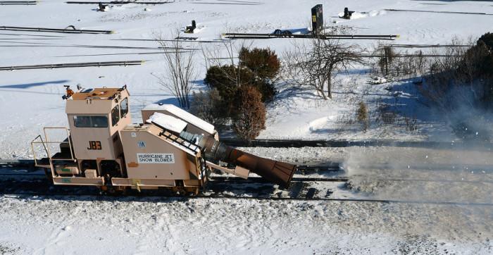 Снегоочистительные машины.