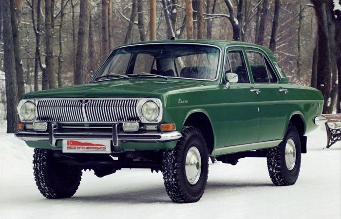 Самые необычные и редкие ГАЗ-24.