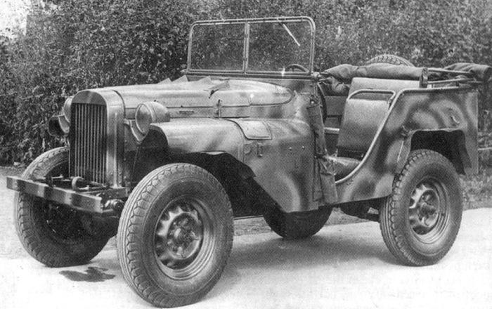 ГАЗ-64 - первый настоящий советский армейский внедорожник.