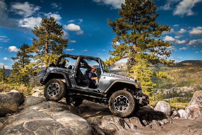 Jeep Wrangler Rubicon Hard Rock Edition.