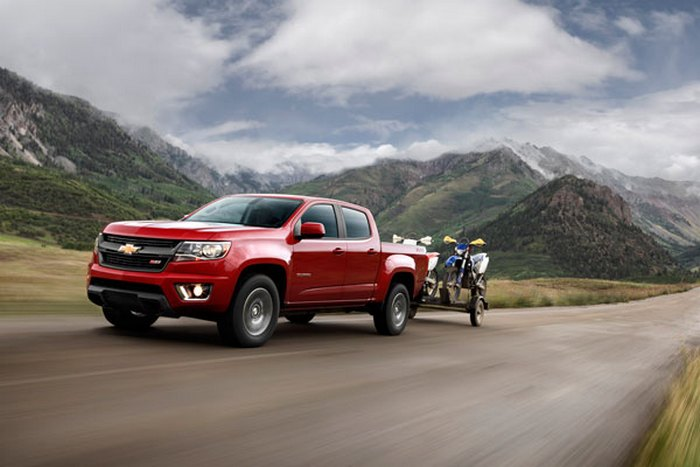 Chevy Colorado Z/71.