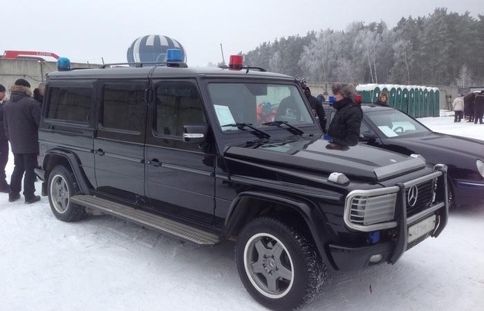 «Луноход»: особенности Mercedes-Benz G-Wagen из службы безопасности Владимира Путина