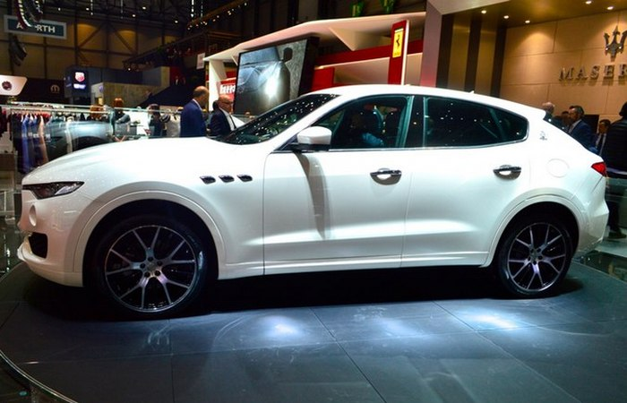 Твин-турбо Maserati Levante.