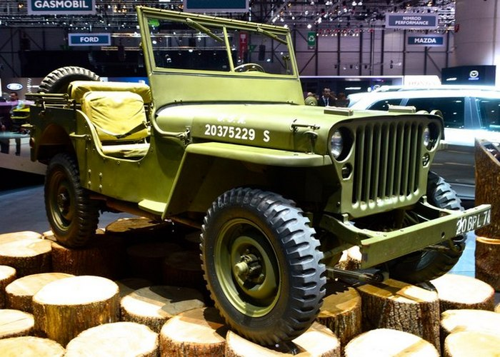 Willys MB 1944 года.