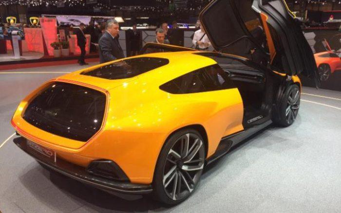 Автомобиль Italdesign GTZero.