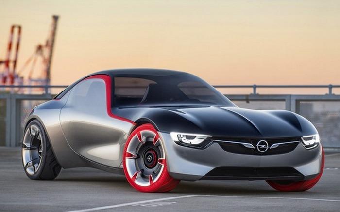 Концепт Vauxhall GT Concept.